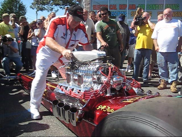 Billy Lynch AA Fuel Dragster