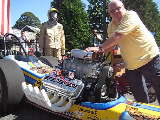 Brian Beattie Jim & Alison Lee Great Expectations II AA Fuel Dragster